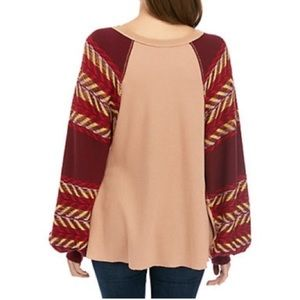 Free People Tops - free people rainbow dreams sweater.Oversized small
